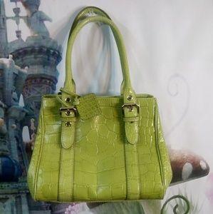 Pistachio green Anne kline purse